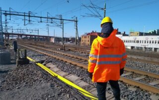 Railmonitors system is installed at Olskroken