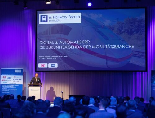 Digital Transformation: Railway Forum Berlin 2019