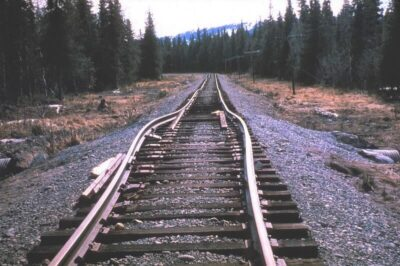 Buckled railway